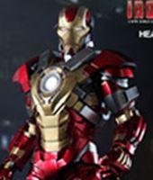 Imagen de Iron Man 3 Figura Iron Man Mark 17 Heartbreaker