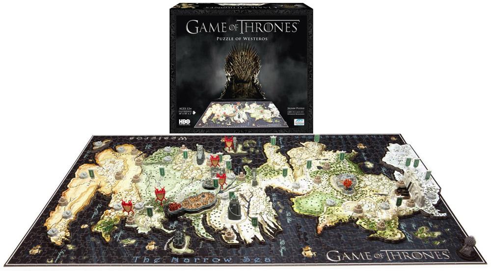 Imagen de Juego de Tronos Puzzle 3D Westeros