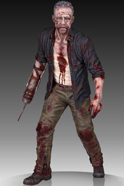 Imagen de The Walking Dead Estatua 1/4 Merle Dixon Walker 41 cm
