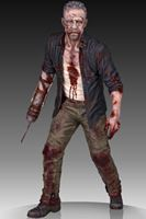 Imagen de The Walking Dead Estatua 1/4 Merle Dixon Walker 41 cm