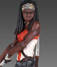 Imagen de The Walking Dead Estatua Michonne 44 cm