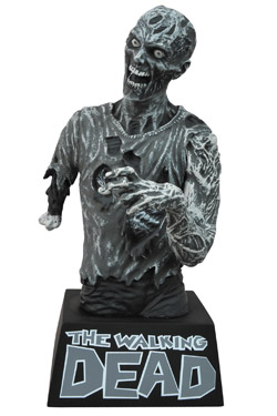 Imagen de The Walking Dead Hucha Zombie Black & White 20 cm