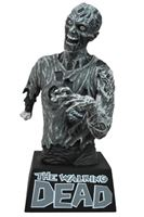 Imagen de The Walking Dead Hucha Zombie Black & White 20 cm
