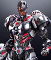 Imagen de DC Comics Variant Play Arts Kai Vol. 4 Figura Cyborg