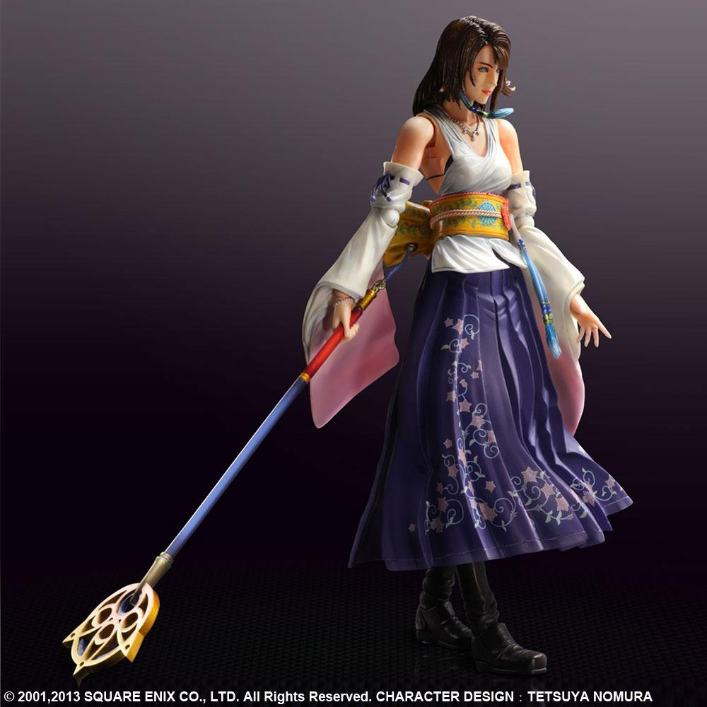 Imagen de Final Fantasy X HD Remaster Play Arts Kai Figura Yuna