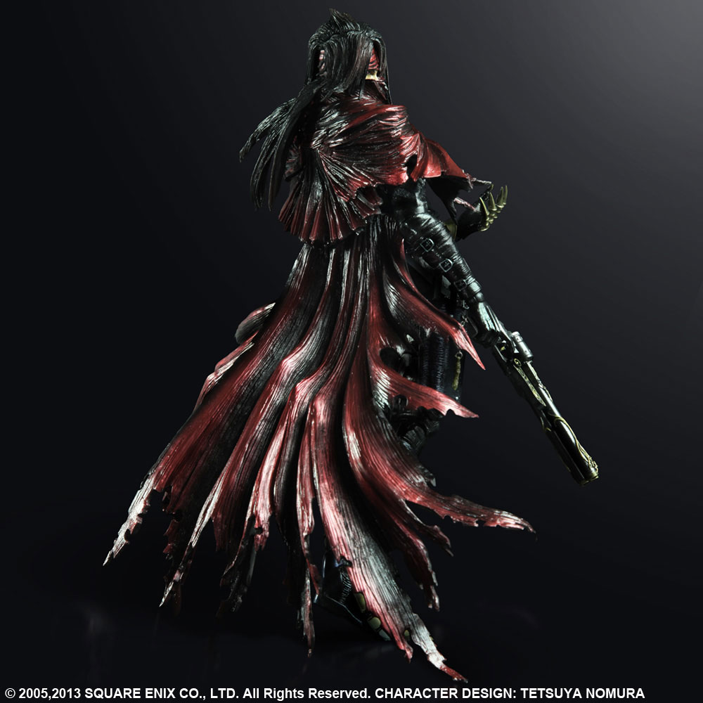 Imagen de Final Fantasy VII Play Arts Kai Vincent Valentine Exclusive Metallic Ver.