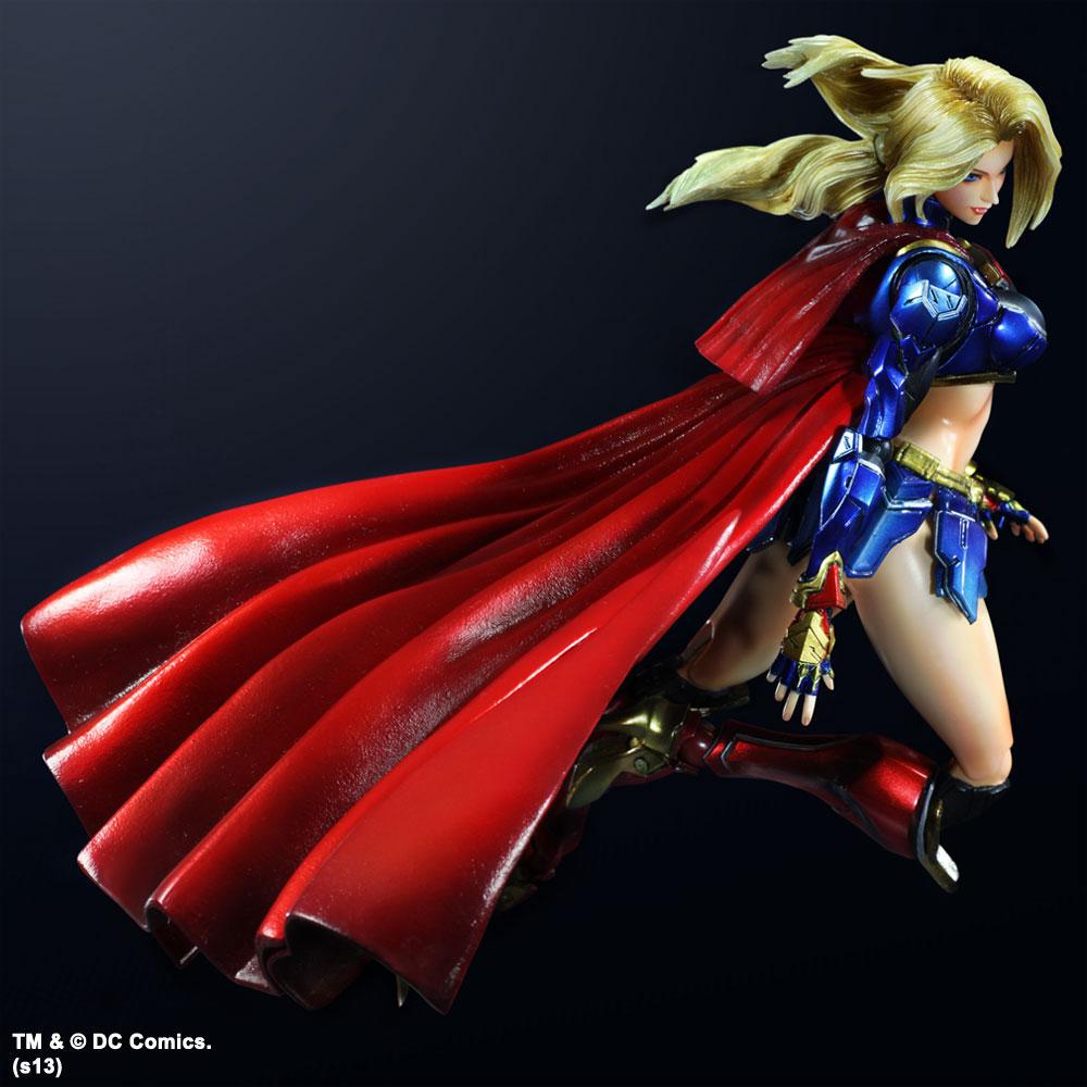 Imagen de DC Comics Variant Play Arts Kai Vol. 3 Figura Supergirl