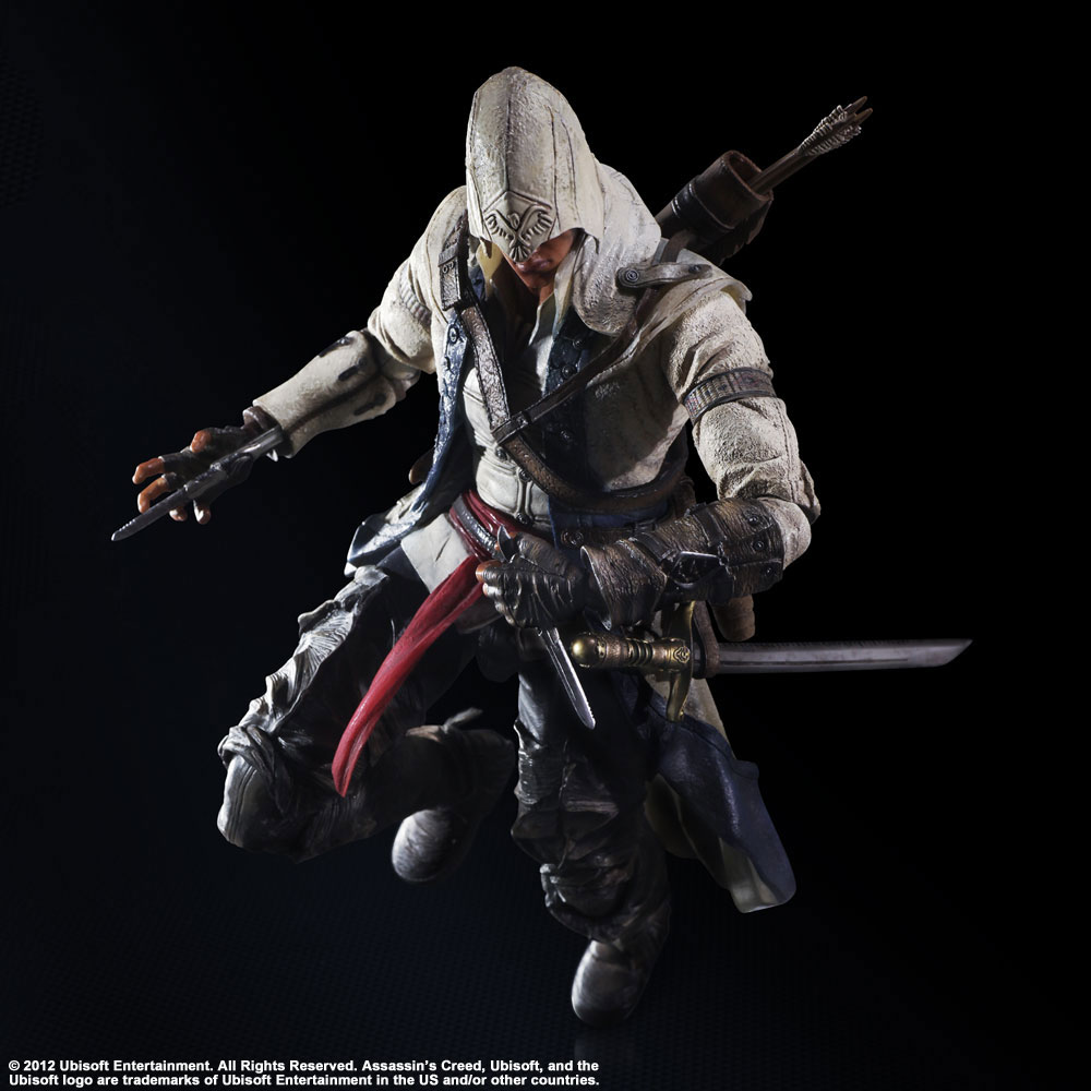 Imagen de Assassin´s Creed III Play Arts Kai Figura Connor Kenway