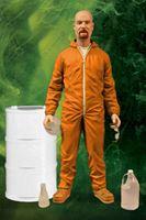 Imagen de Breaking Bad Figura Deluxe Walter White in Orange Hazmat Suit