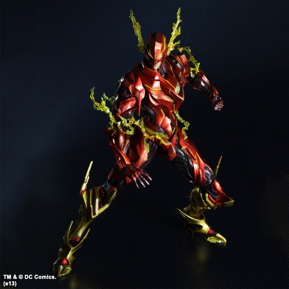 Imagen de DC Comics Variant Play Arts Kai Vol 2. Figura The Flash