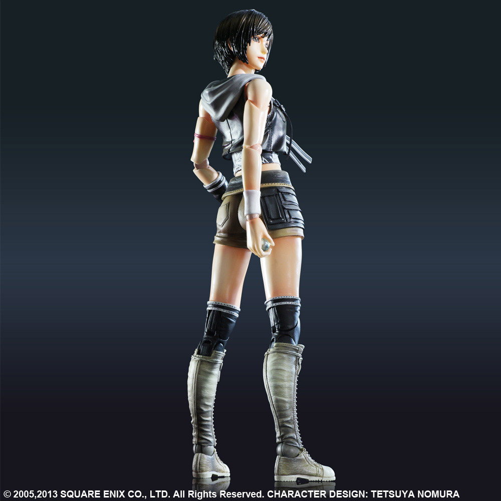 Imagen de Final Fantasy VII Advent Children Play Arts Kai Figura Yuffie Kisaragi