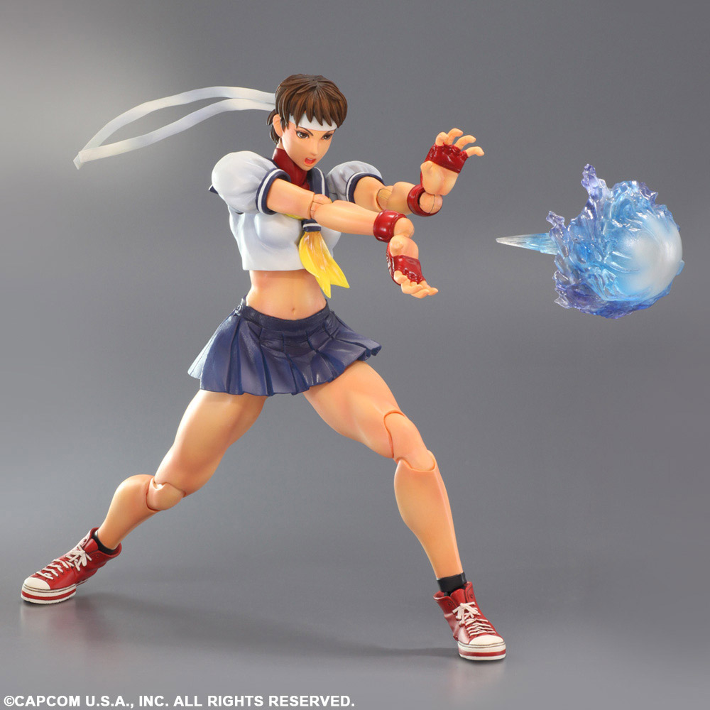 Imagen de Super Street Fighter IV Play Arts Kai Vol. 4 Sakura