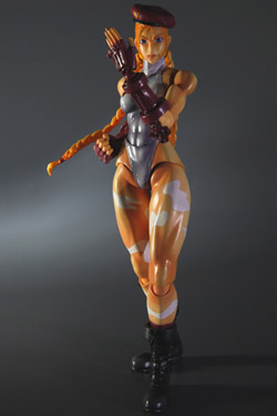 Imagen de Super Street Fighter IV Play Arts Kai Vol. 1 Vol. 2 Figura Cammy White Ver. Exclusive