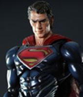 Imagen de Man Of Steel Play Arts Kai Figura Superman