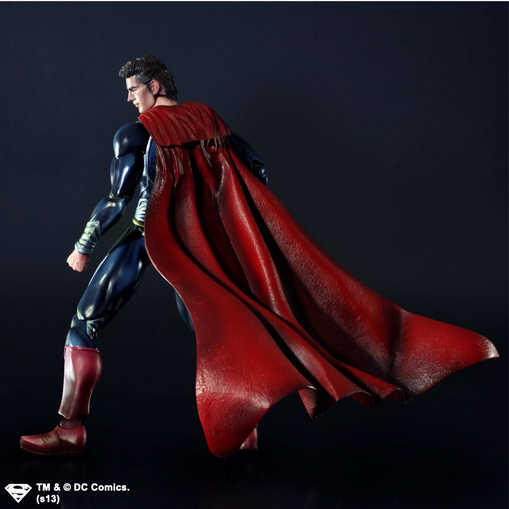 Imagen de Man Of Steel Play Arts Kai Figura Superman