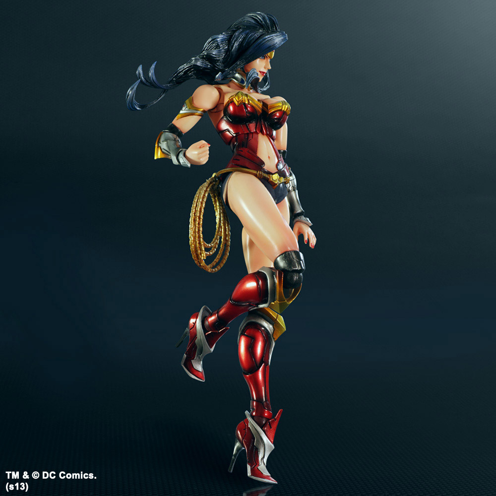 Imagen de Dc Comics Variant Play Arts Kai Figura Wonder Woman