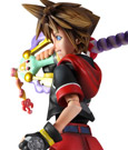 Imagen de Kingdom Hearts 3D Play Arts Kai Figura Sora