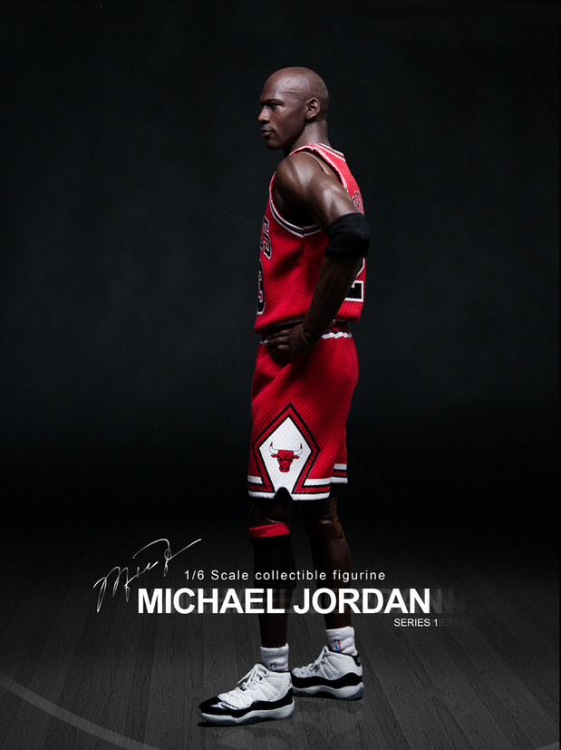 Imagen de NBA Collection Figura Real Masterpiece 1/6 Michael Jordan (Road Edition)