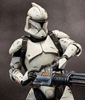 Imagen de Star Wars Figura Deluxe Veteran Clone Trooper