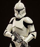 Imagen de Star Wars Figura Deluxe Shiny Clone Trooper