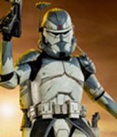 Imagen de Star Wars The Clone Wars Figura Clone Commander Wolffe
