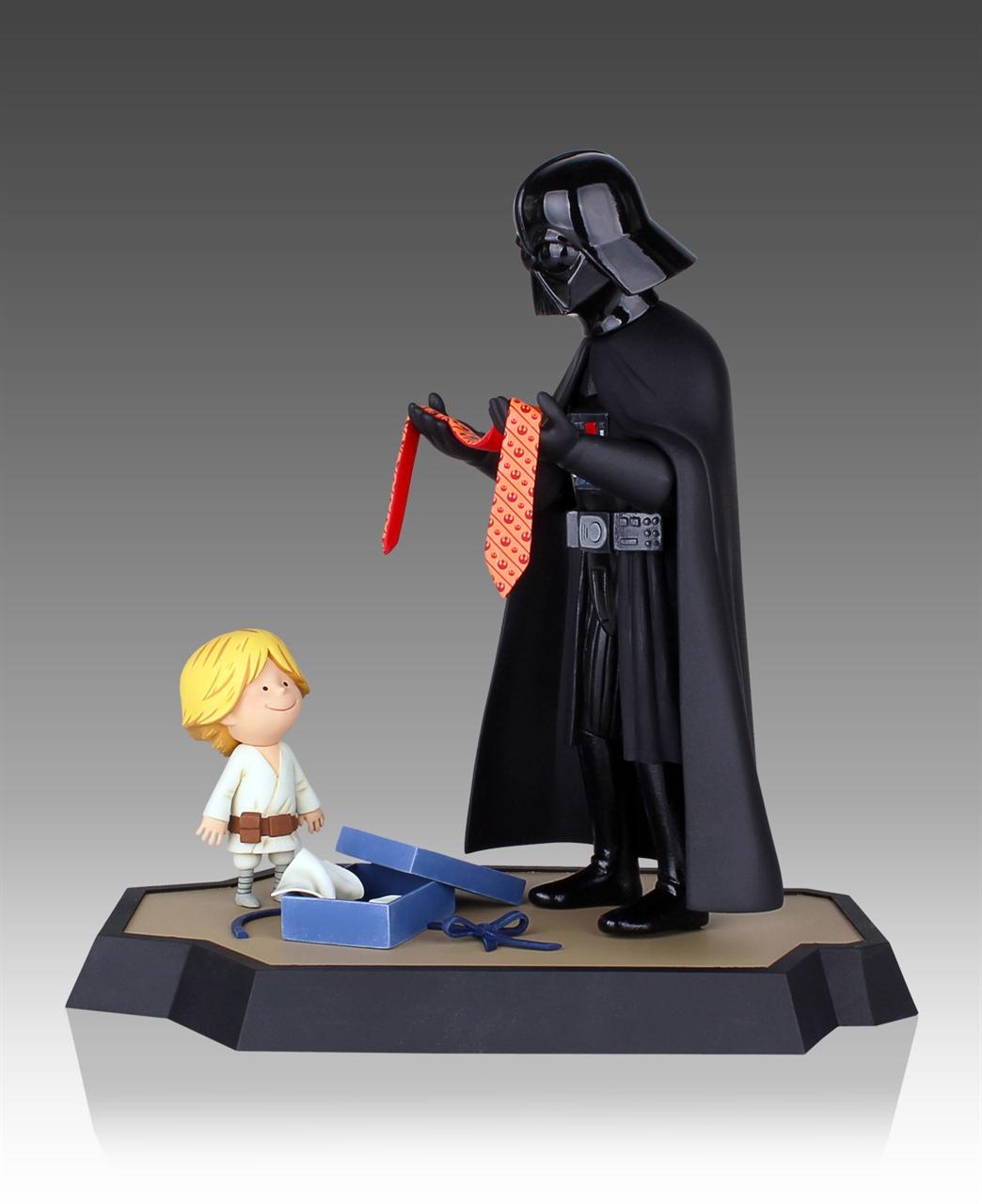 Imagen de Star Wars Maquette Darth Vader and Son