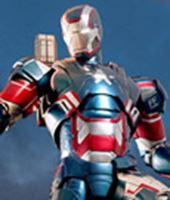 Imagen de Iron Man 3 Figura MMS Diecast Iron Patriot