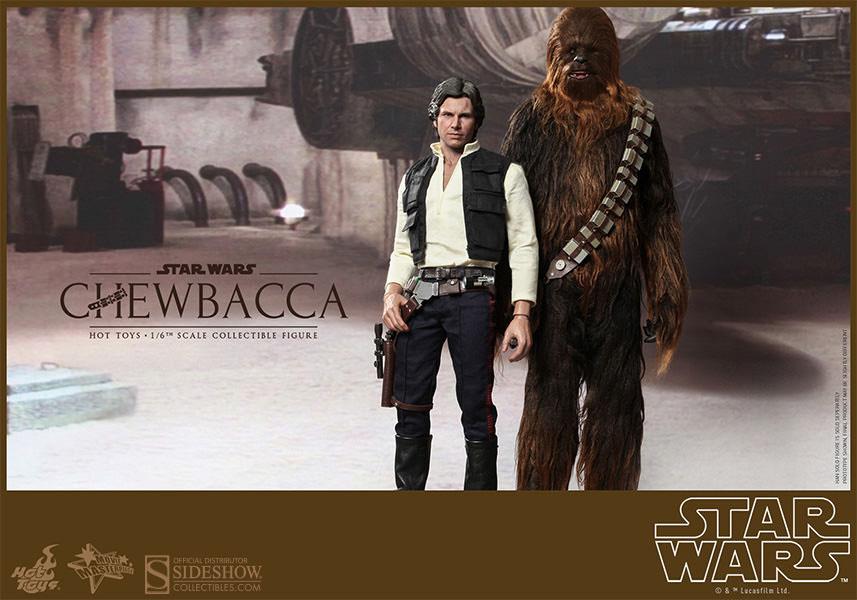 Imagen de Star Wars Pack Figuras Han Solo & Chewbacca