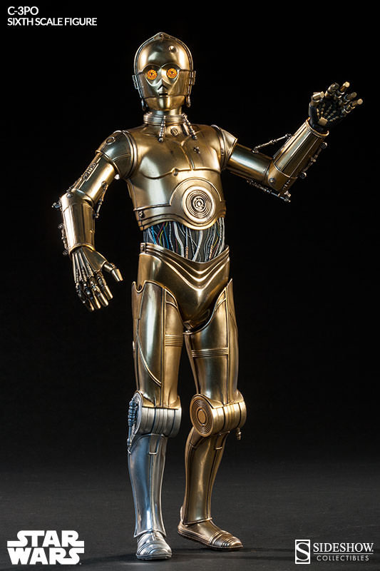 Imagen de Star Wars Figura 1/6 C-3PO 30 cm