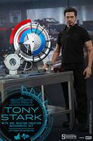 Imagen de Iron Man 2 Figura Tony Stark with Arc Reactor Creation Accessories