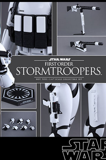 Imagen de Star Wars Episode VII Pack de 2 Figuras Movie Masterpiece 1/6 First Order Stormtroopers