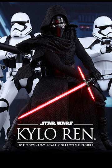 Imagen de Star Wars Episode VII Figura Movie Masterpiece 1/6 Kylo Ren 33 cm