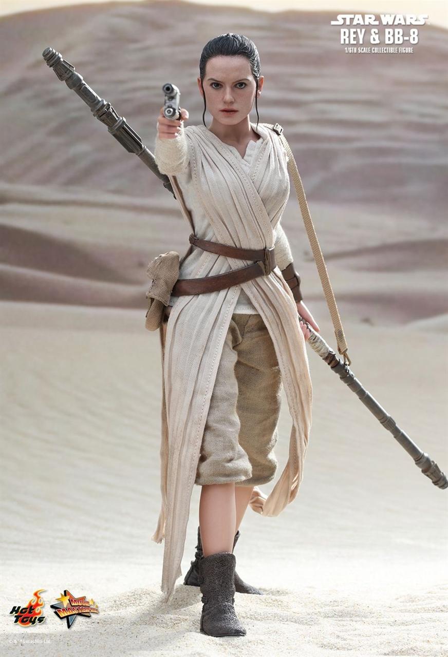 Imagen de Star Wars Episode VII Figura Movie Masterpiece 1/6 Rey 28 cm