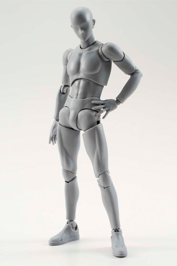 Imagen de S.H. Figuarts Figura Man Deluxe Set Grey Version 15 cm
