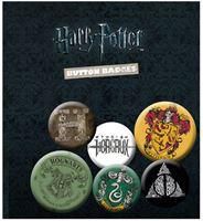 Imagen de Harry Potter Pack 6 Chapas Mix 1