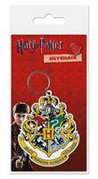 Imagen de Harry Potter Llavero caucho Hogwart's Crest 6 cm
