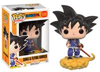 Imagen de Dragonball Z POP! Animation Vinyl Figura Goku and Flying Nimbus 9 cm