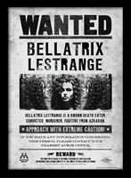 Imagen de Póster enmarcado Harry Potter (Bellatrix Wanted)