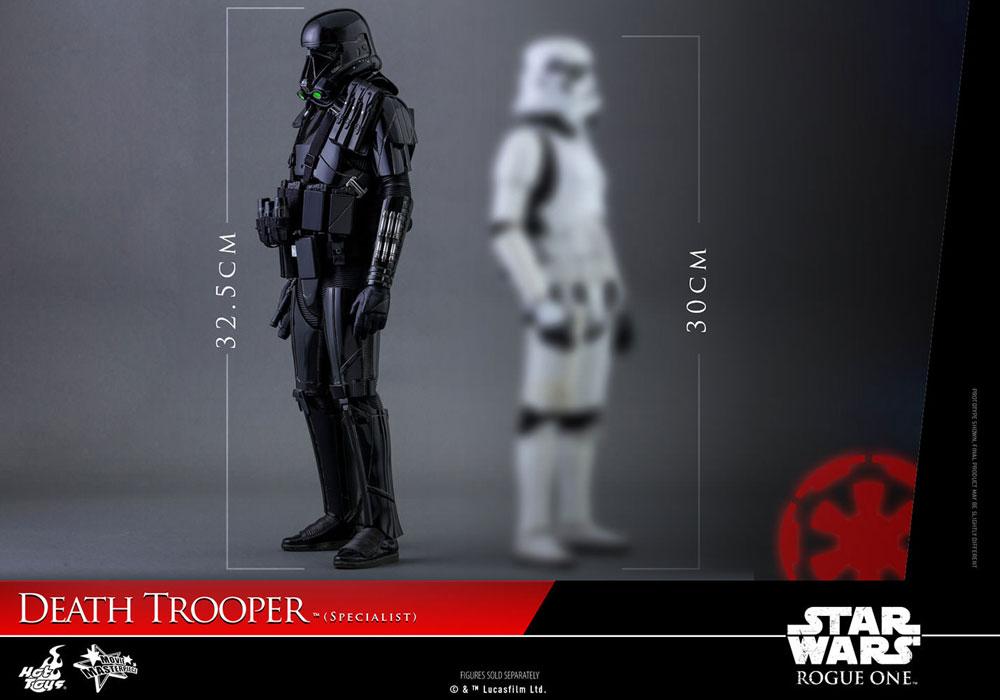 Imagen de Star Wars Rogue One Figura Movie Masterpiece 1/6 Death Trooper Specialist 32 cm