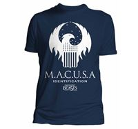 Imagen de  CAMISETA HARRY POTTER FANTASTIC BEASTS MACUSA CAMISETA CHICO
