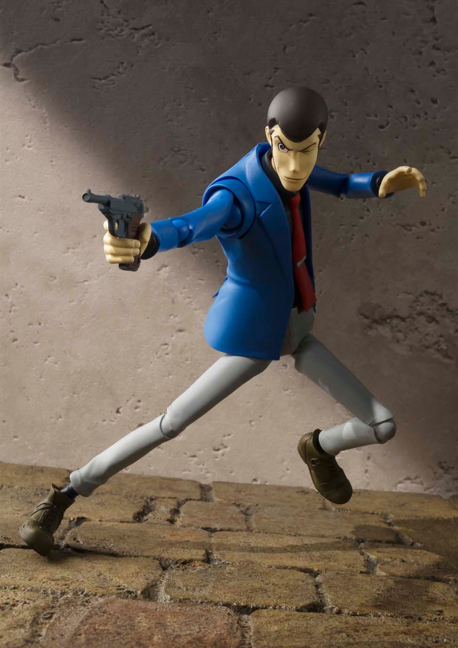 Imagen de Lupin III Figura S.H. Figuarts Lupin The Third 15 cm