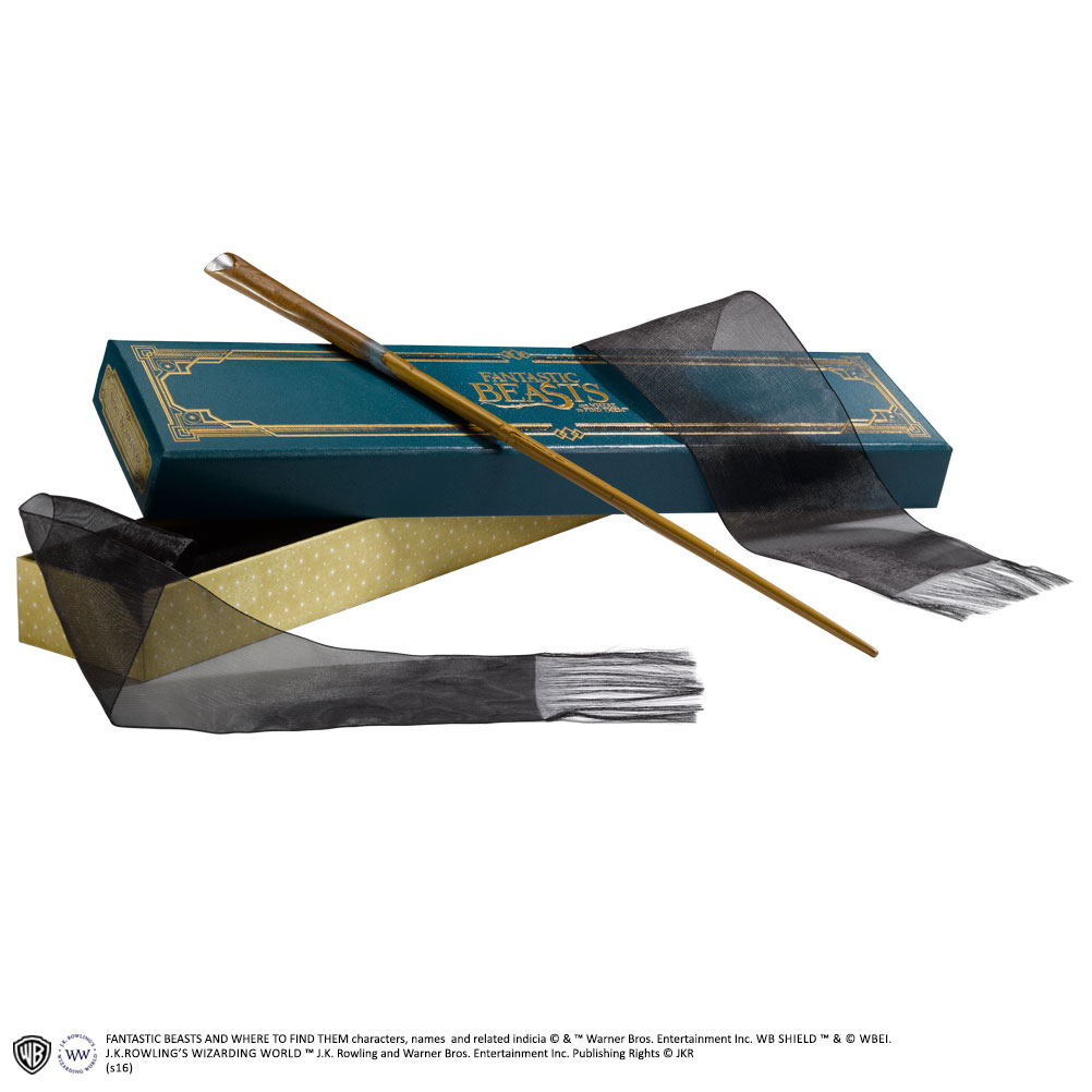 Imagen de Varita magica de Newt Scamander en caja ollivander - Animales Fantasticos