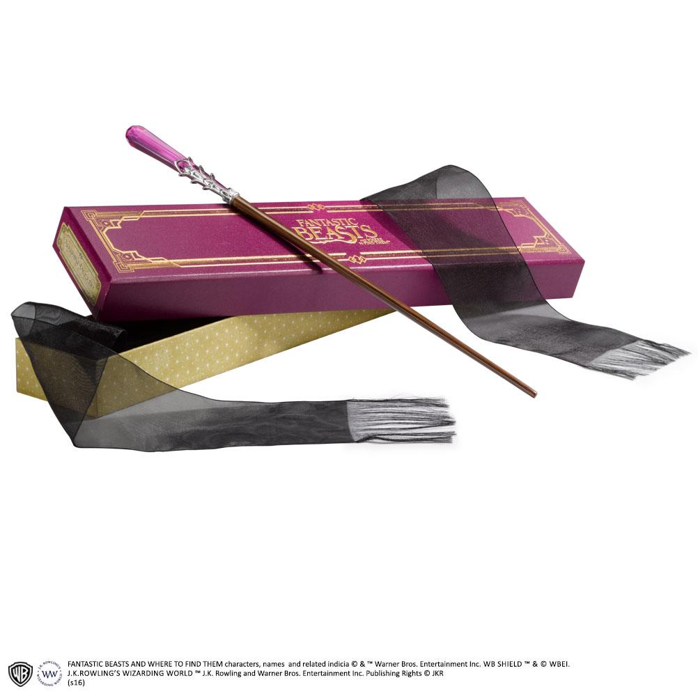 Imagen de Varita magica de Seraphina Picquery en caja ollivander - Animales Fantasticos