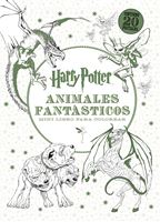 Imagen de HARRY POTTER-ANIMALES FANTÁSTICOS MINI LIBRO PARA COLOREAR