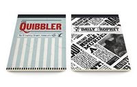 Imagen de LIBRO DE NOTAS Harry Potter: The Quibbler & Prophet A5