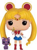Imagen de Sailor Moon POP! Animation Vinyl Figura Sailor Moon & Luna with Moon Stick 9 cm
