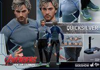 Imagen de Vengadores La Era de Ultrón Figura Movie Masterpiece 1/6 Quicksilver 30 cm