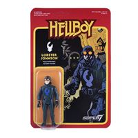 Imagen de Hellboy ReAction Figura Lobster Johnson 10 cm