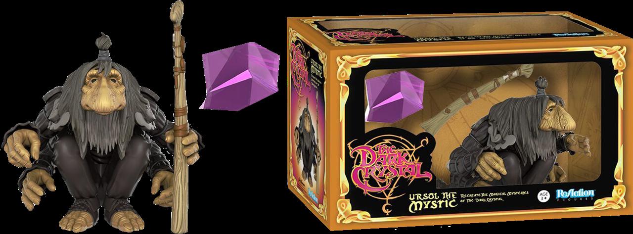 Imagen de Cristal Oscuro ReAction Figura Ursol the Chanter 10 cm