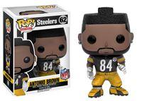 Imagen de NFL POP! Football Vinyl Figura Antonio Brown (Steelers) 9 cm